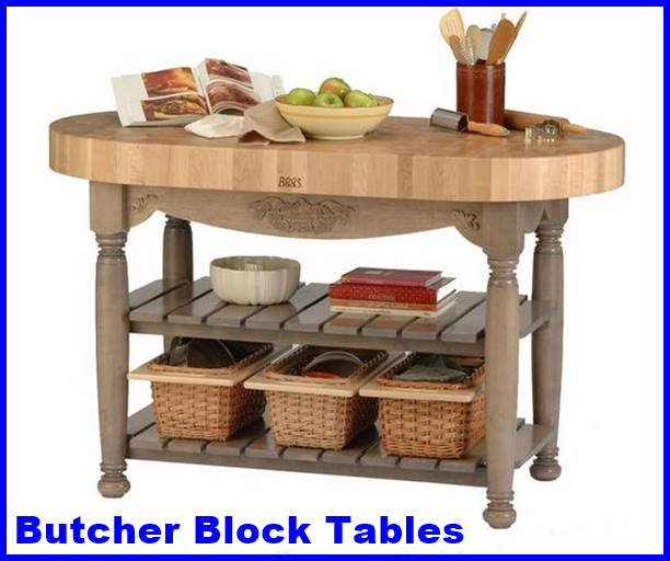 Butcher Block Tables