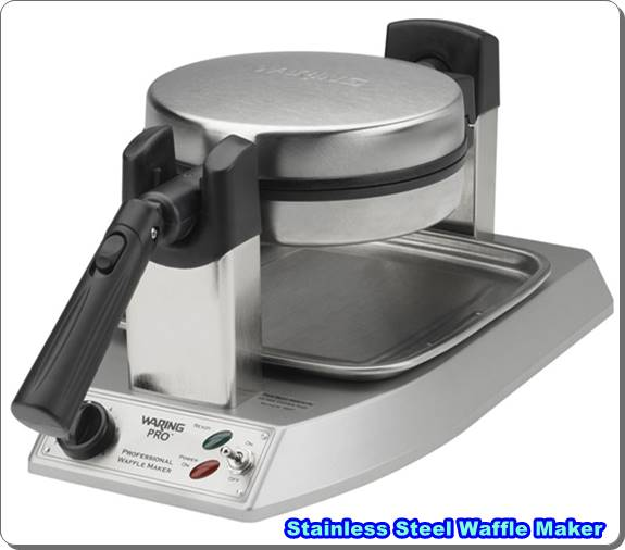 Stainless Steel Waffle Maker Waring Pro