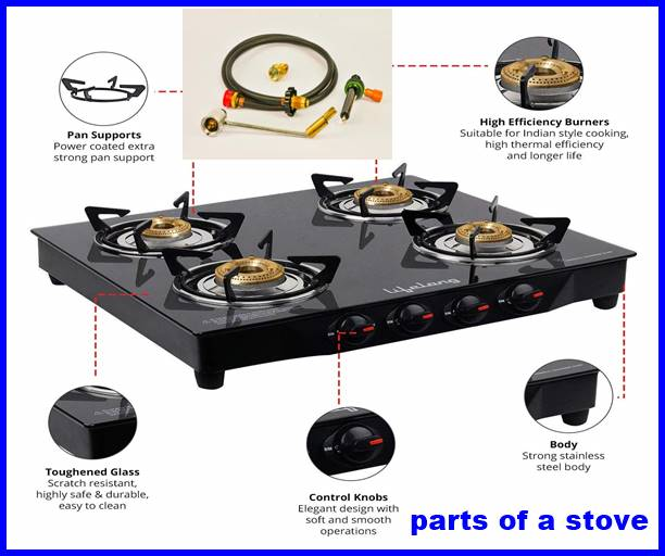 parts of a stove
