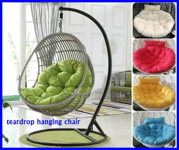 teardrop hanging chair