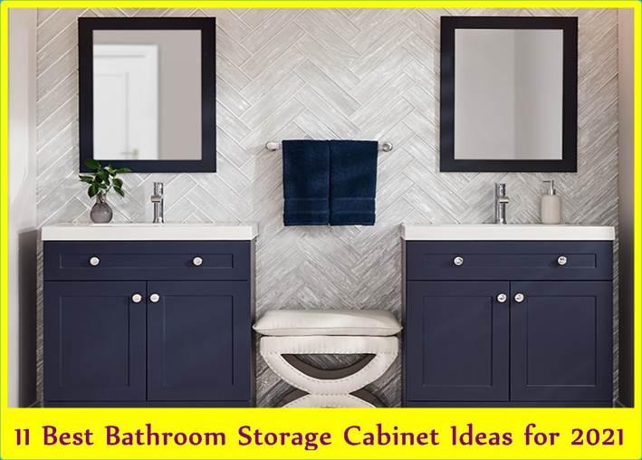 11 Best Bathroom Storage Cabinet Ideas for