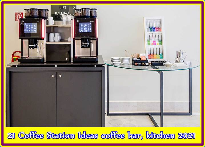 21 Coffee Station Ideas coffee bar kitchen