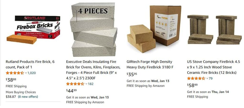 Rutland Products Fire Brick, 6 counts, Pack of 1 2021