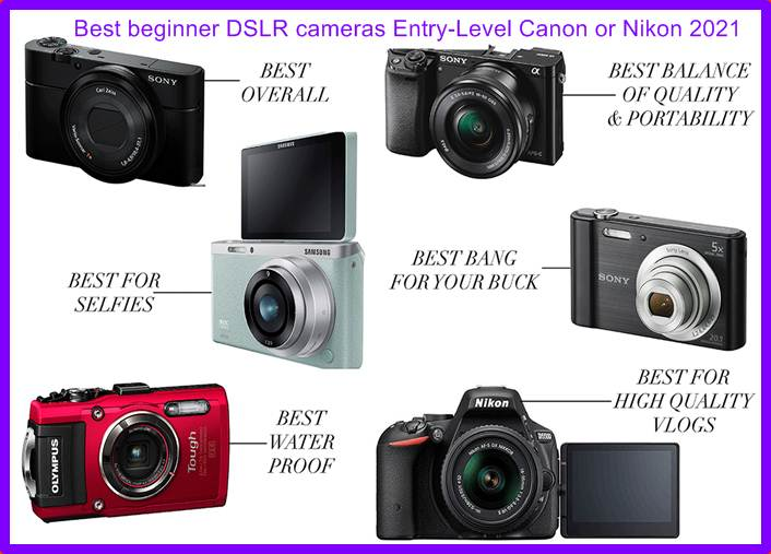Best beginner DSLR