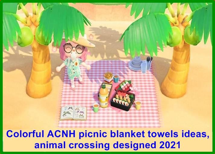 ACNH picnic blanket