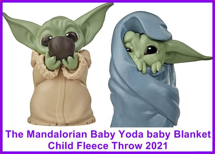 Baby Yoda Blanket