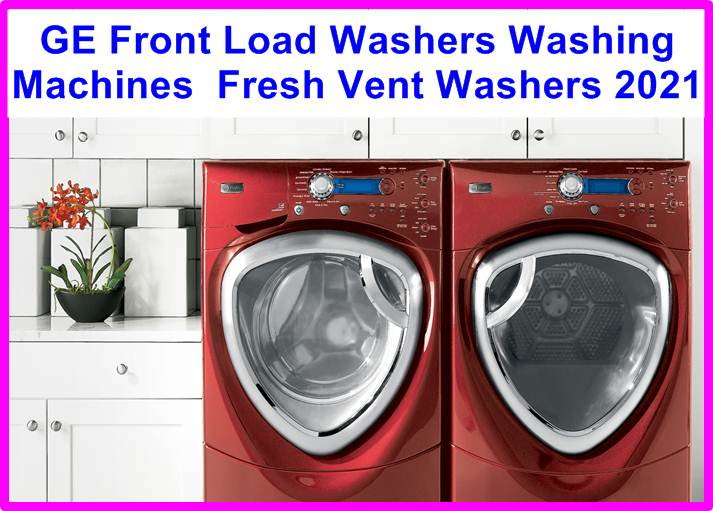 GE Front Load Washers